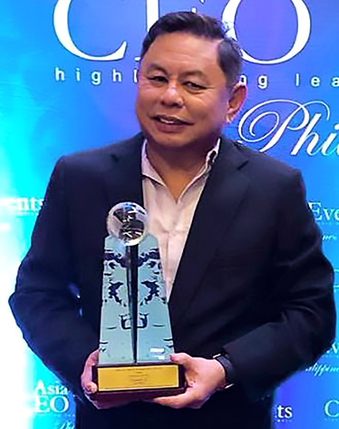 Father of Philippine cosmetics named top entrepreneur