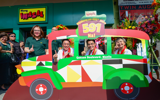 Mang Inasal's Countdown to 600th Store Begins with Quezon Boulevard Branch