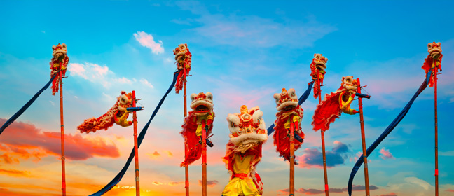 Where do Pinoys celebrate Chinese New Year