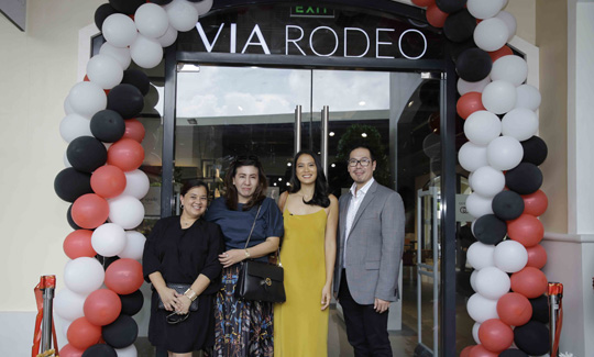 Via Rodeo opening