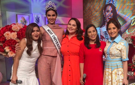 Miss Universe Catriona Gray is 'Ambassador for Knowledge'