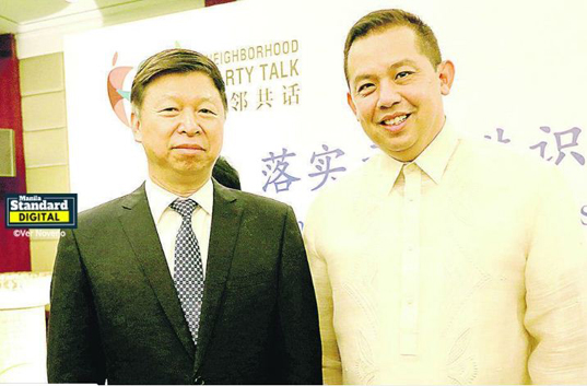 'Lakas one with China party in pursuit of mutual interests'