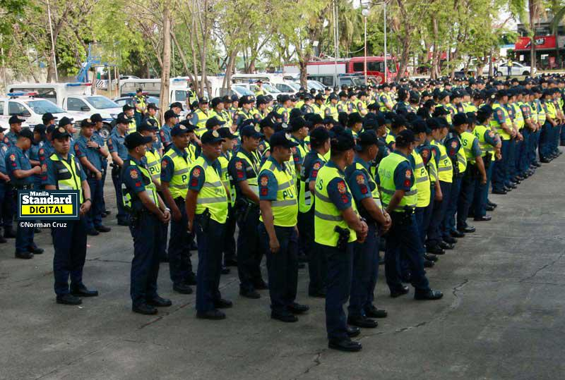 Mass for cops