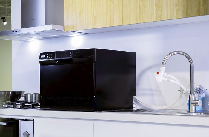 Domestic Living: Tabletop dishwasher
