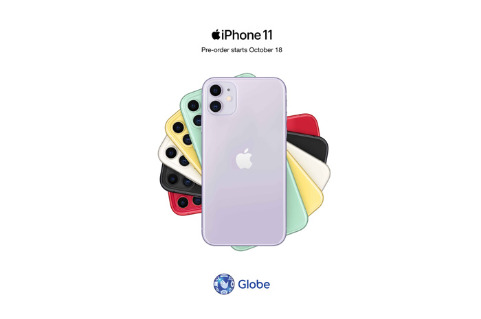Enjoy Globe's different payment options for iPhone 11, iPhone 11 Pro and iPhone 11 Pro Max
