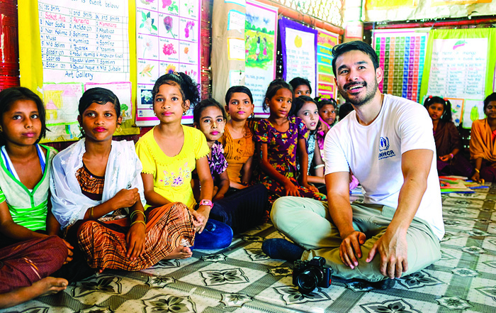 Atom Araullo highlights milestones, challenges of Rohingya Crisis