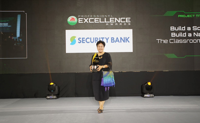 Security Bank's award