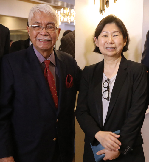 Jurado with SM Investments Corp. vice chairperson Tessie Sy-Coson
