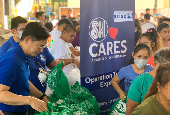SM continues to send relief assistance to remote towns in Batangas
