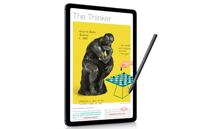 New kinds of learning with SAMSUNG Galaxy Tab S6 Lite