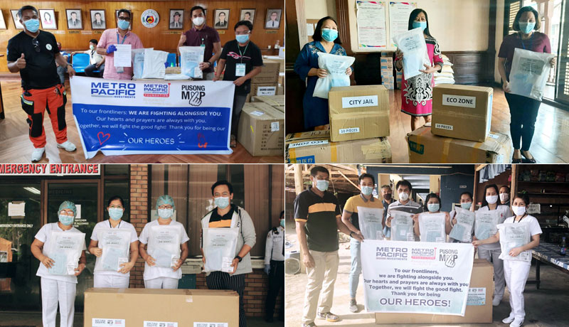 personal protective equipment, PPE, Metro Pacific Investments Corp., MPIC,Metro Pacific Investments Foundation, MPIF