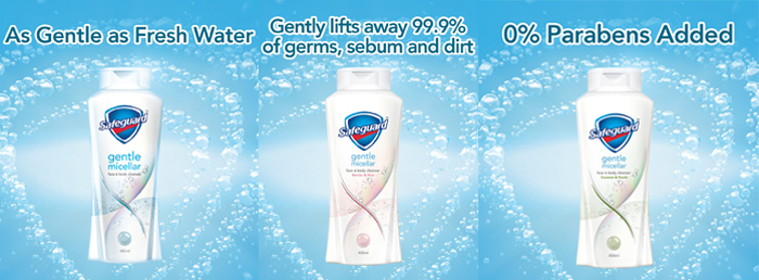 Germ protection that is gentle for sensitive skin
