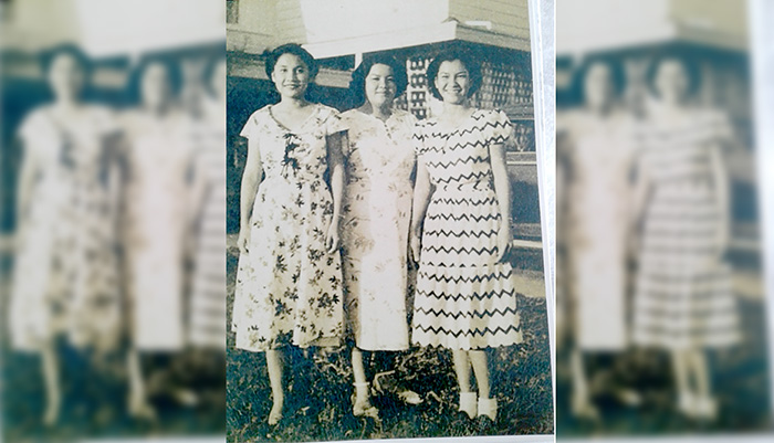Linda and her sisters