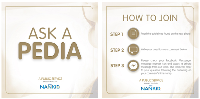 Nestlé NANKID helps parents get medicala consultation online for free