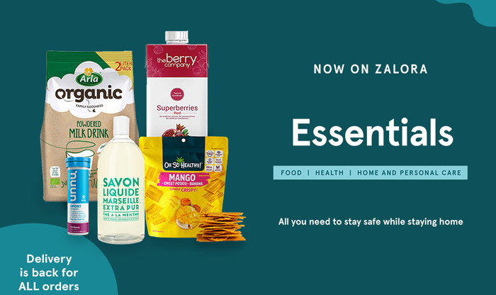Zalora launches Essentials category