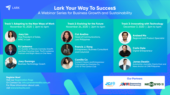 Lark helps businesses adapt to changes in the workplace