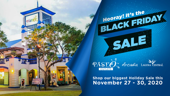 Hooray! It's the Black Friday Sale at the Paseo Outlets