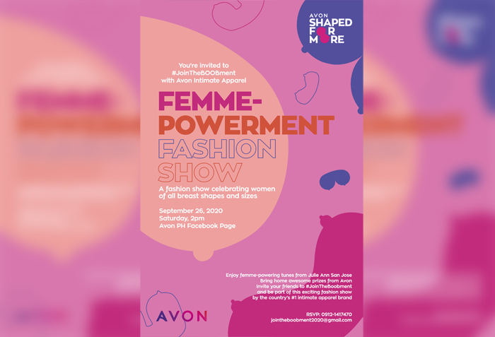 Avon Intimate Apparel believes you are Shaped For More