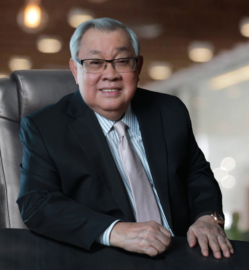 Proudly wearing the Kapuso badge is no less than Atty. Felipe L. Gozon who has been serving as the company's Chairman and CEO for 20 years now.