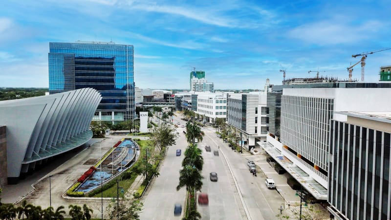 """Megaworld's provincial townships are favored by BPO companies because of their tried and tested """"live-work-play"""" development concept."""