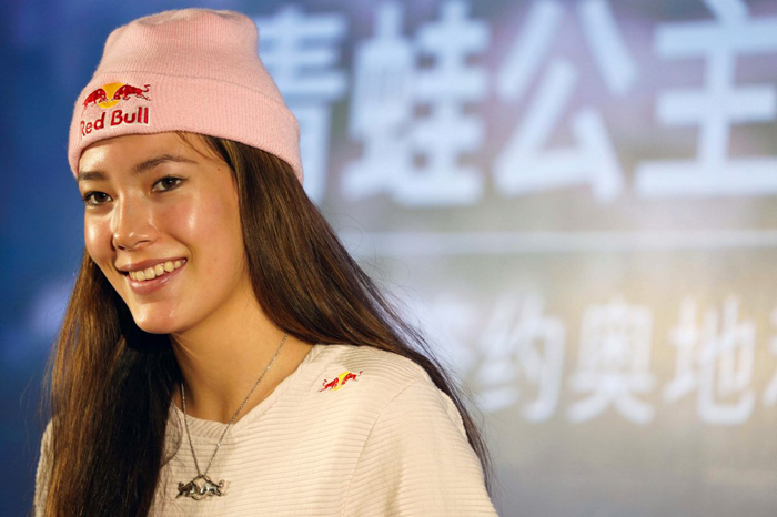 US-born Chinese 'Frog Princess' may reign in '22 Winter Olympics