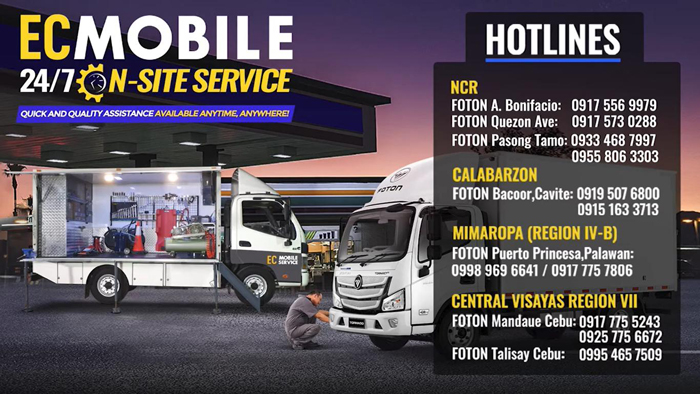 Foton PH rolls out an intensified first in the Philippines aftersales services and programs