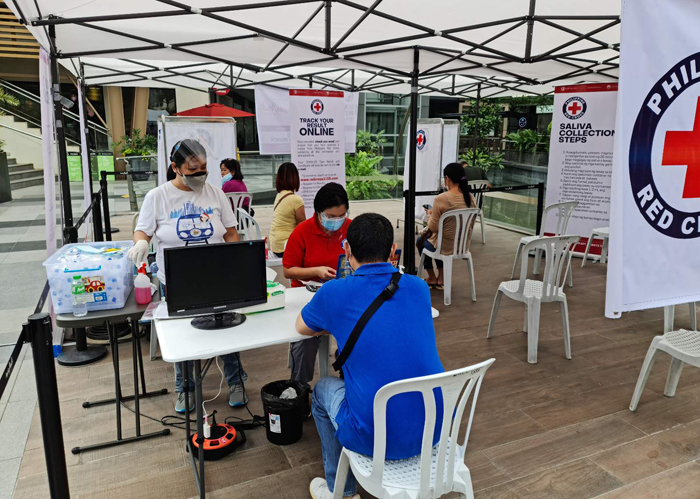 Ayala Malls, Red Cross make Saliva RT-PCR testing more accessible