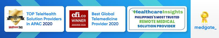 Medgate Philippines named 1 of top telehealth providers in Asia Pacific