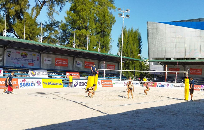 Safety a priority in Subic 'bubble' volleyball tourney