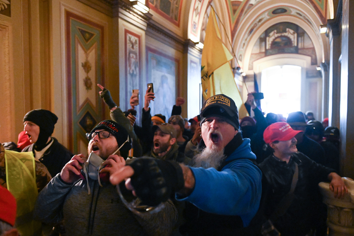 Right-wing media offers sympathy, excuses for US Congress mob