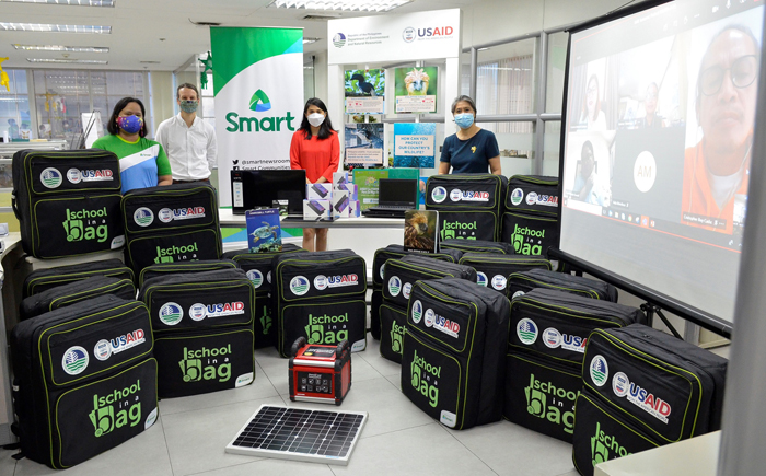 School-in-a-bag promotes biodiversity conservation