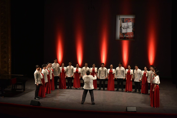Filipino-American chorale team-up bags silver in international choir competition