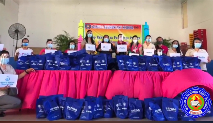 Insular Foundation, MWF help protect public school pupils from the COVID-19 through proper hygiene