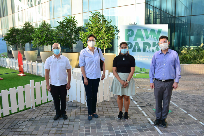 Dog park opens in Ortigas