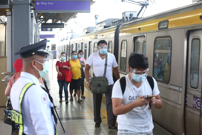 Three LRT-2 stations now back in operation