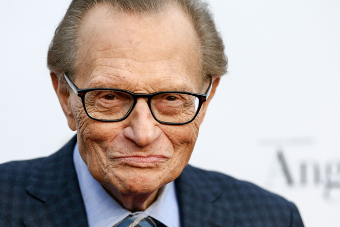 Larry King, iconic talk show host, 87