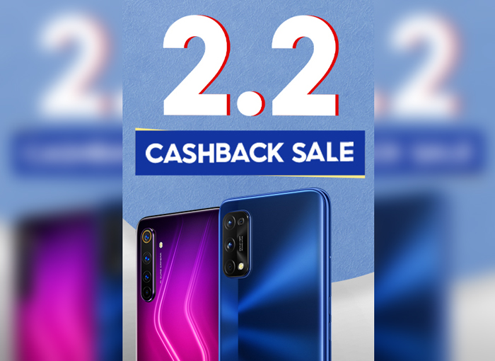 realme PH joins Shopee's 2.2 cashback sale with exciting deals and promos