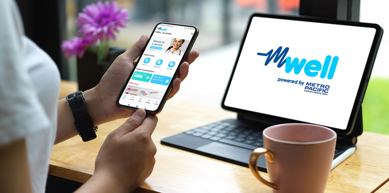 mWell is an all-in-one app designed for every Filipino's demand for treatment and care during this pandemic.