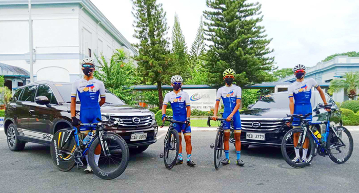 GAC Motor PH partners with Philcycling road trials