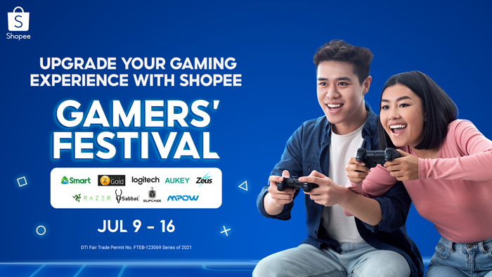 Shopee partners with top brands to level up shopper's gaming experience