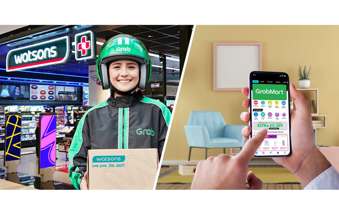 SM Markets, Watsons now on Grab