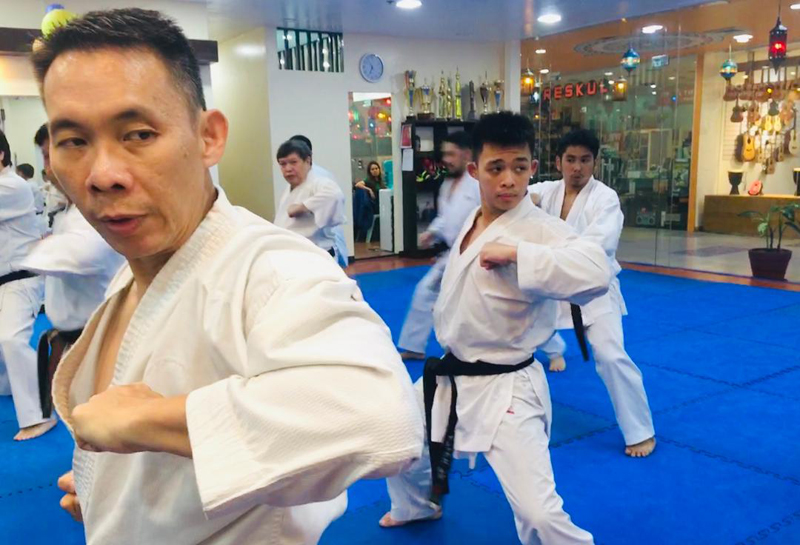 The Japanese sport of Karate is making its Olympic debut.