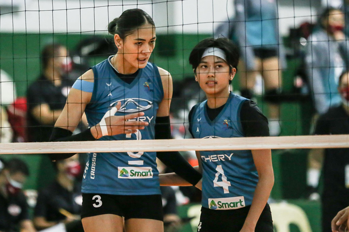 Crossovers rams Power Hiß√tters in PVL pro inaugurals