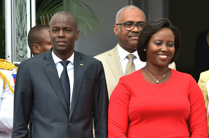 Wounded widow of Haiti's slain president returns home: official