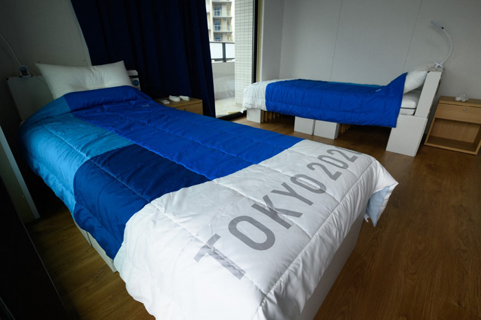 Tokyo Olympic beds are sturdy, IOC says after 'anti-sex' report