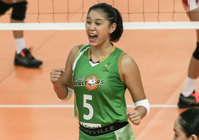 Lady Realtors survive Power Hitters' rally