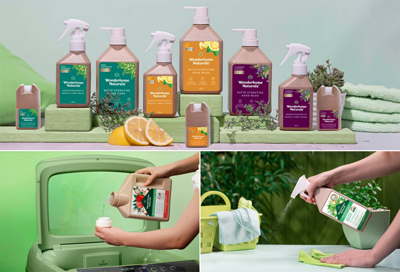 Filipino natural cleaning product brand Wonderhome Naturals uses plant-based probiotics to deliver a cleaning power certified 99.9 percent effective against household germs.
