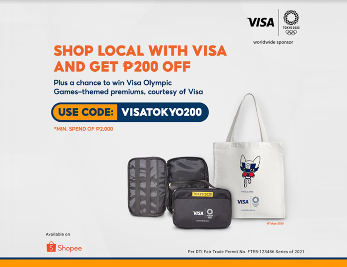 Visa's Olympic Games Tokyo 2020 campaign for Shopee launched in PH
