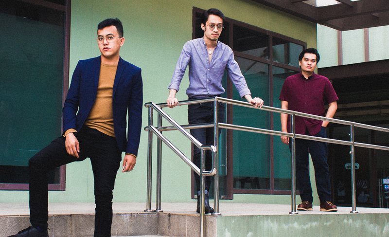 46 Hope St. is a power trio born and bred from Southern Metro Manila.