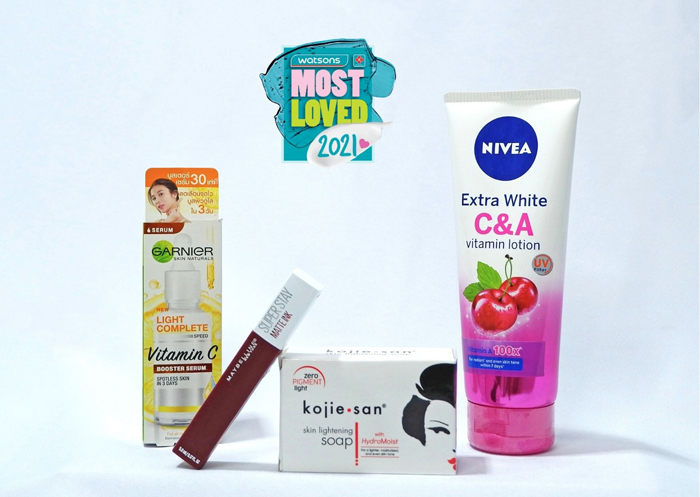 Watsons reveals shoppers' Most Loved products
